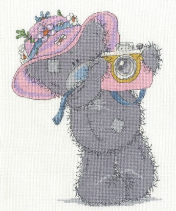 Snapshots  in the Sun  - Tatty Teddy (Me to You) Cross Stitch Kit BL1128/72